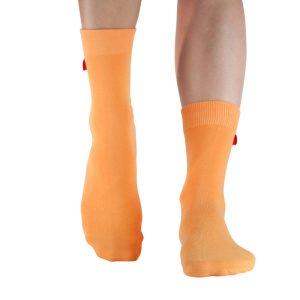 Orange strumpa från tag Socks