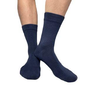 Blå strumpa från Tag Socks